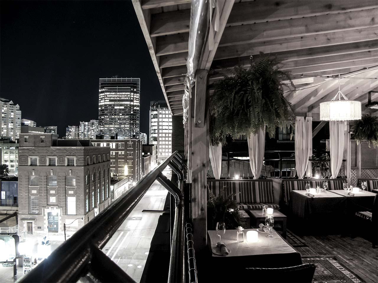 Best Patio Toronto - Rooftop Terrace with a View