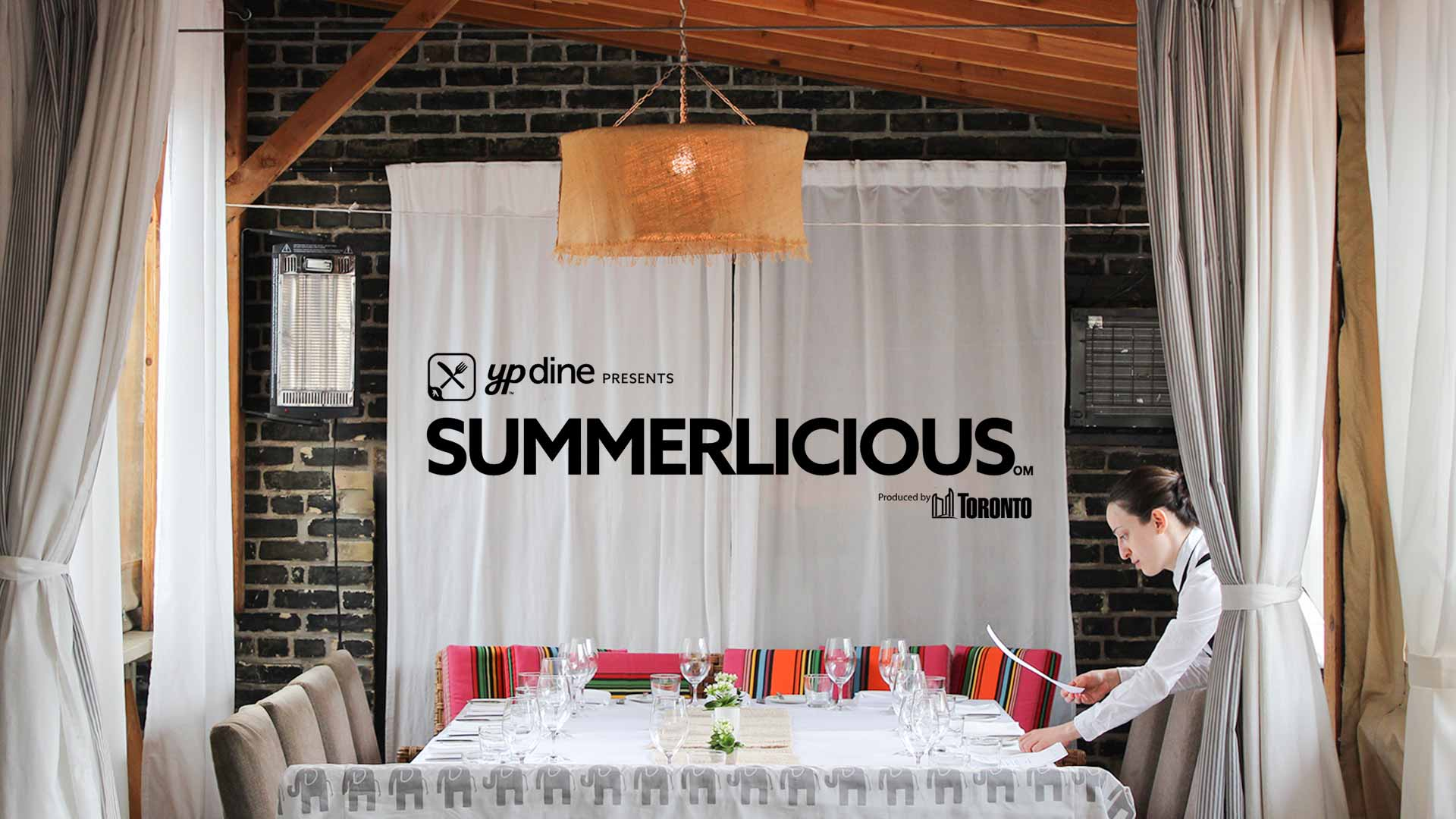Summerlicious Toronto Best Rooftop Patio Restaurant